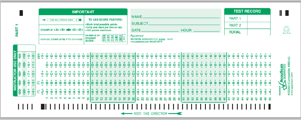 Astounding image intended for printable scantron form